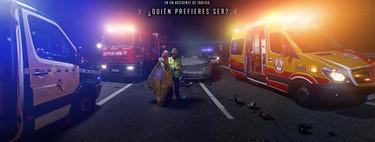 """""""En un accidente de tráfico, ¿quién prefieres ser?"""", o cuando la DGT resucita la línea dura de los anuncios de los años 90"""
