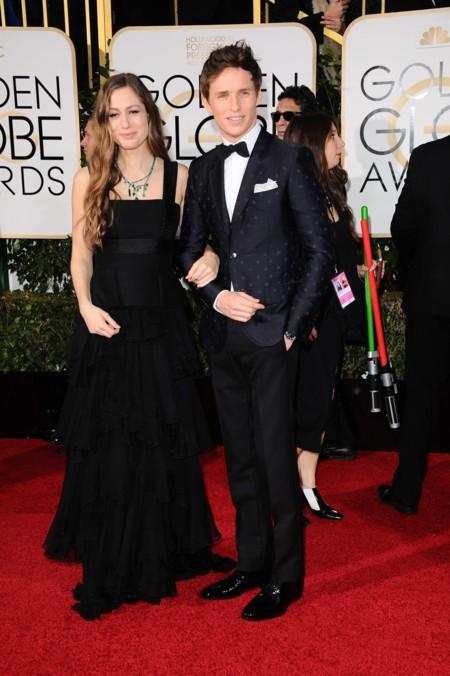 Eddie Redmayne y Hannah Bags