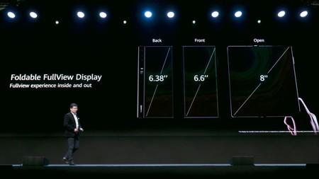Huawei Mate Xs Pantallas