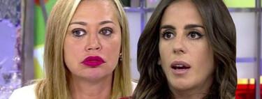 """Belén Esteban acusa a Anabel Pantoja de ser cómplice de los chanchullos de su tía Isabel: """"tengo pruebas de que le llevaste las batas de cola a Poveda"""""""