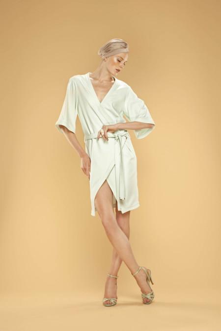 vestido cruzado Dolores Promesas Resort Primavera-Verano 2014