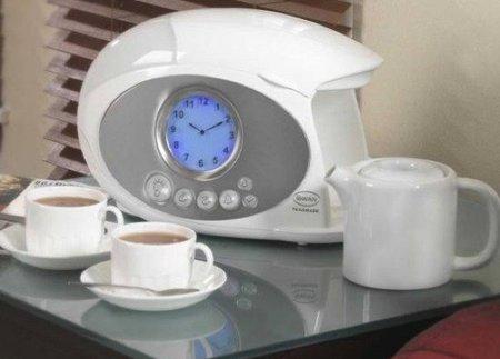despertador tetera usos