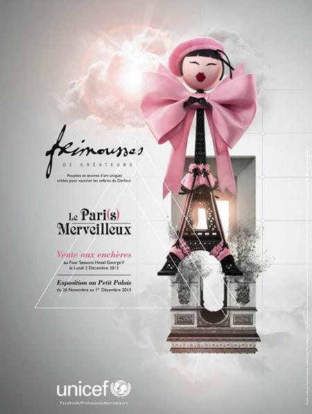 "Las ""Frimousses de Créateurs"" para UNICEF celebran su XI Edición"