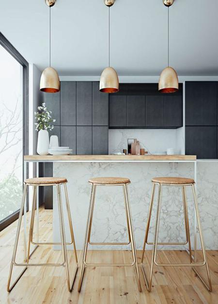 17 ideas de lmparas de cocina que te van a encantar