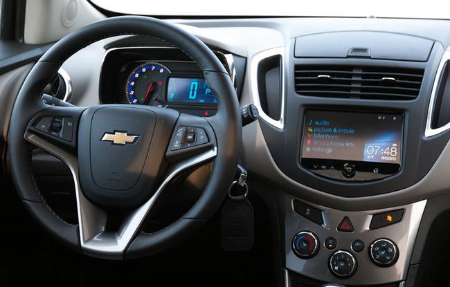Chevrolet Trax 2013, posición de conducción