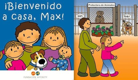 """Bienvenido a casa, Max"", un cuento infantil sobre mascotas"