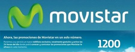 Movistar centraliza sus promociones en el 1200