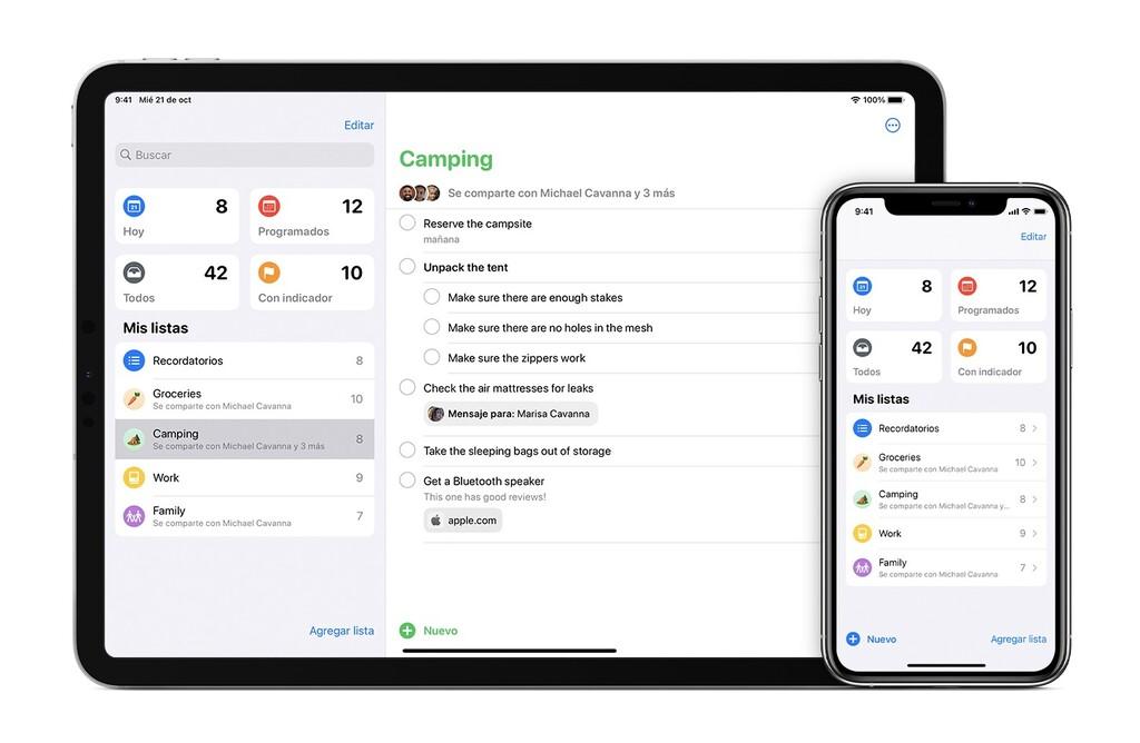 Cómo dejar de compartir listas de Recordatorios en vuestro iPhone, iPad u Mac™