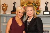 Christina Aguilera, ¿ahora te nos metes en política?