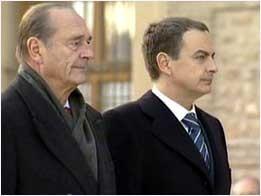 Jacques Chirac & José Luis Rodríguez Zapatero