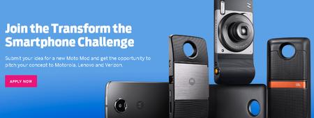 Lenovo anuncia un desafio en Indiegogo para el desarrollo de nuevos Moto Mods