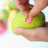 Stixfresh, los stickers que prometen mantener la fruta fresca por dos semanas