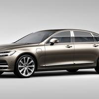 Volvo S90 Excellence... ¿el modelo más lujoso fabricado en China?