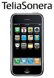 TeliaSonera venderá el iPhone en 7 países europeos