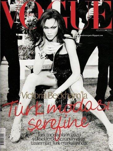 Victoria Beckham se desmelena en Vogue