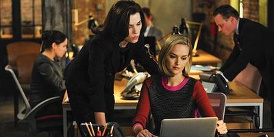 'The Good Wife', la serie que no tiene miedo de Internet