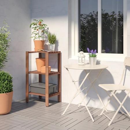 Los mejores armarios y estanterías de exterior de Ikea para