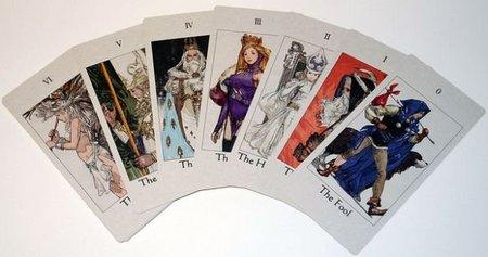 Cartas de tarot en Tactics Ogre