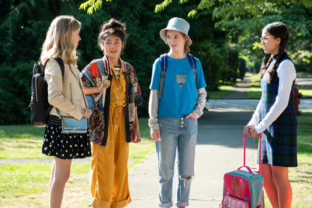 'El club de las canguro' es un sorprendente lugar feliz en Netflix: una emotiva serie para pequeños y grandes