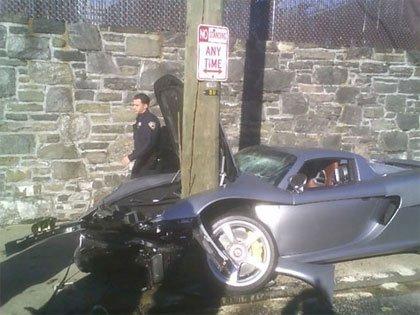 Los Carrera GT también se estrellan