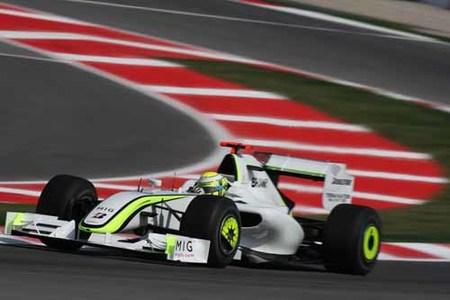 Victoria para Button y doblete de Brawn en Barcelona