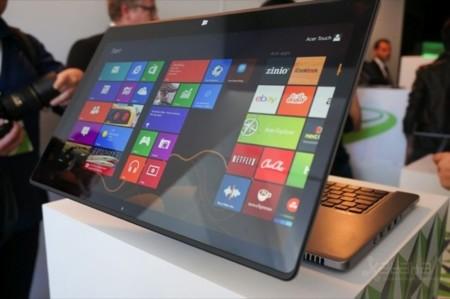 Acer Aspire R7 y su característica bisagra 'Ezel'