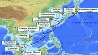 Facebook invierte en un cable submarino de fibra óptica de 10.000 km y 55 Tbps en Asia