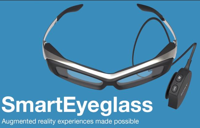 Sony SmartEyeglass, el rival de Google Glass va tomando forma