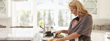 Beneficios del porteo indoor o por qué portear a tu bebé dentro de casa tiene tantas ventajas
