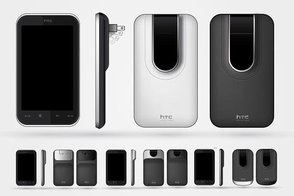 Foto de Concepto de enchufe integrado en el móvil (2/7)