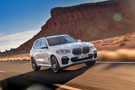 BMW X5 2018 dinámico