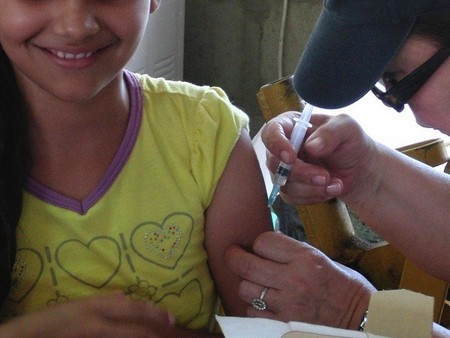 A pesar de las recomendaciones, sólo entre el 20 y el 40% de los niños con enfermedades crónicas se vacuna frente a la gripe