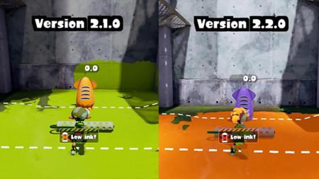 Descubre qué tanto 'nerfearon' tu arma favorita de Splatoon con la actualización 2.2.0, con este video comparativo