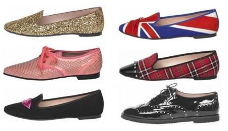 Pretty Loafers. Seis zapatos casi planos de mujer para perder la cabeza