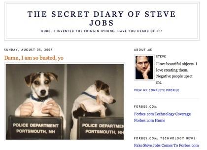 Descubierto el falso Steve Jobs