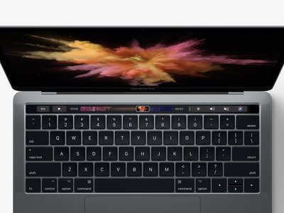Esta app añade feedback háptico a la Touch Bar del MacBook Pro