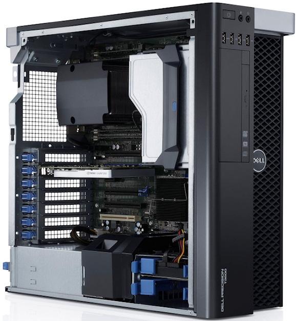 Dell Precision estaciones de trabajo actualizadas