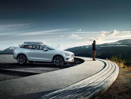 El Volvo XC Concept marcará el camino del Volvo XC90 PHEV híbrido enchufable