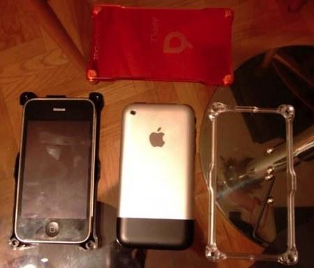 Funda Liquid con iPhone 3g y primera generación