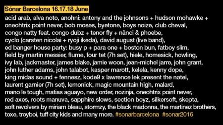 Sonar Un Festival Por Dentro