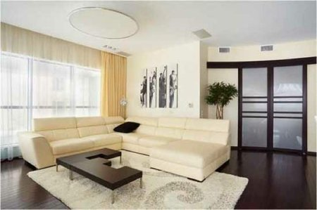 Puertas abiertas: apartamento de diseño según Elzbieta Chegarova