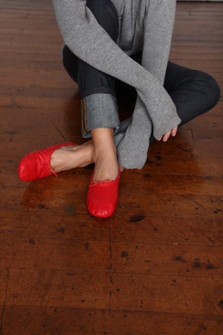 bailarinas rojas mujer
