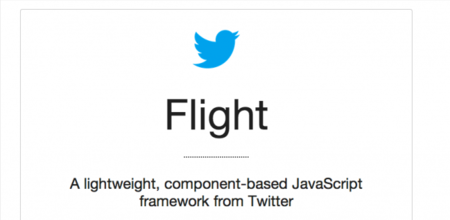 Flight, framework javascript fruto de la última reimplementación de la web de Twitter
