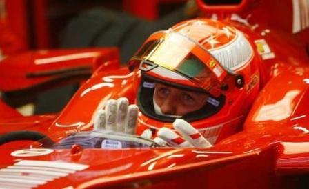 Michael Schumacher se volverá a subir al F2008 el lunes
