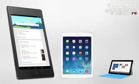Android lidera el mercado de las tablets en el mundo