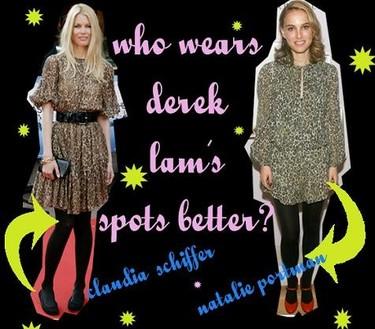 ¿Quién lo lleva mejor: Claudia Schiffer o Natalie Portman?