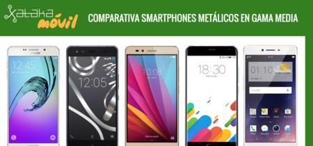 Huawei Honor 5X frente a sus rivales metálicos más baratos