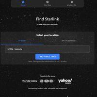 Esta web te permite rastrear los satélites de Starlink y saber cuándo vas a poder verlos desde tu casa