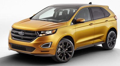 Ford Edge Sport 2015, primeros datos