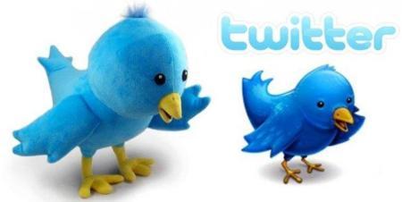 Peluche del pájaro de Twitter